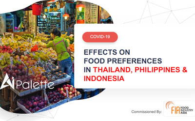 Effects on Food Preferences in Thailand, Philippines & Indonesia